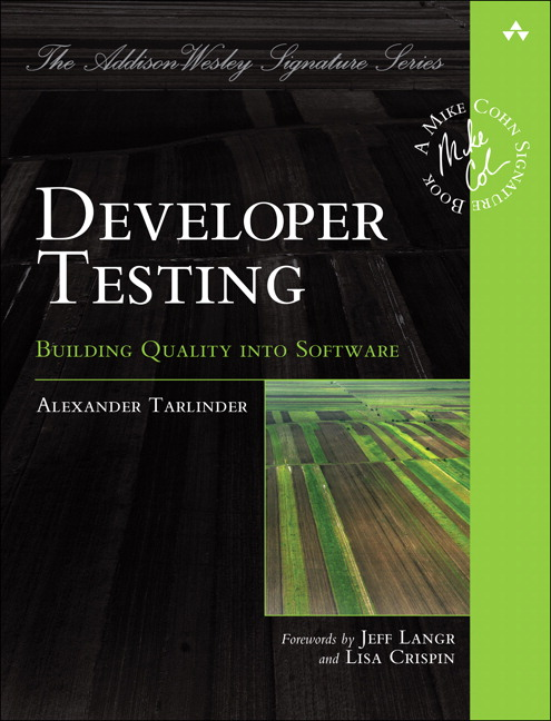 Developer Testing Front Cover
